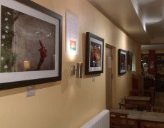 Women of Buddha Exhibition at La Terre Cafe, Glastonbury